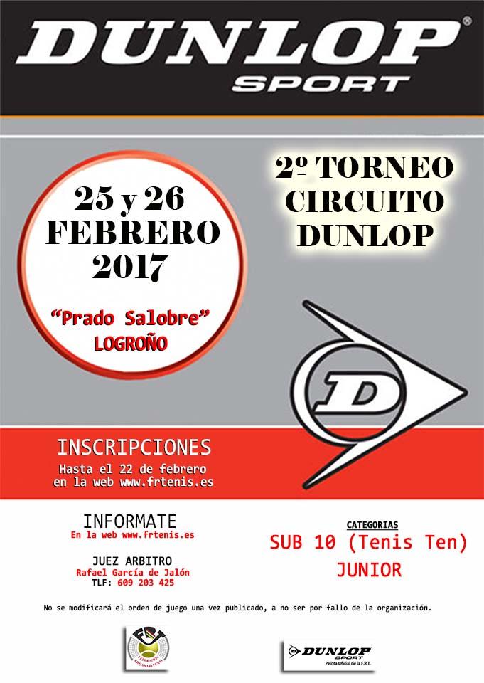 2º TORNEO CIRCUITO DUNLOP