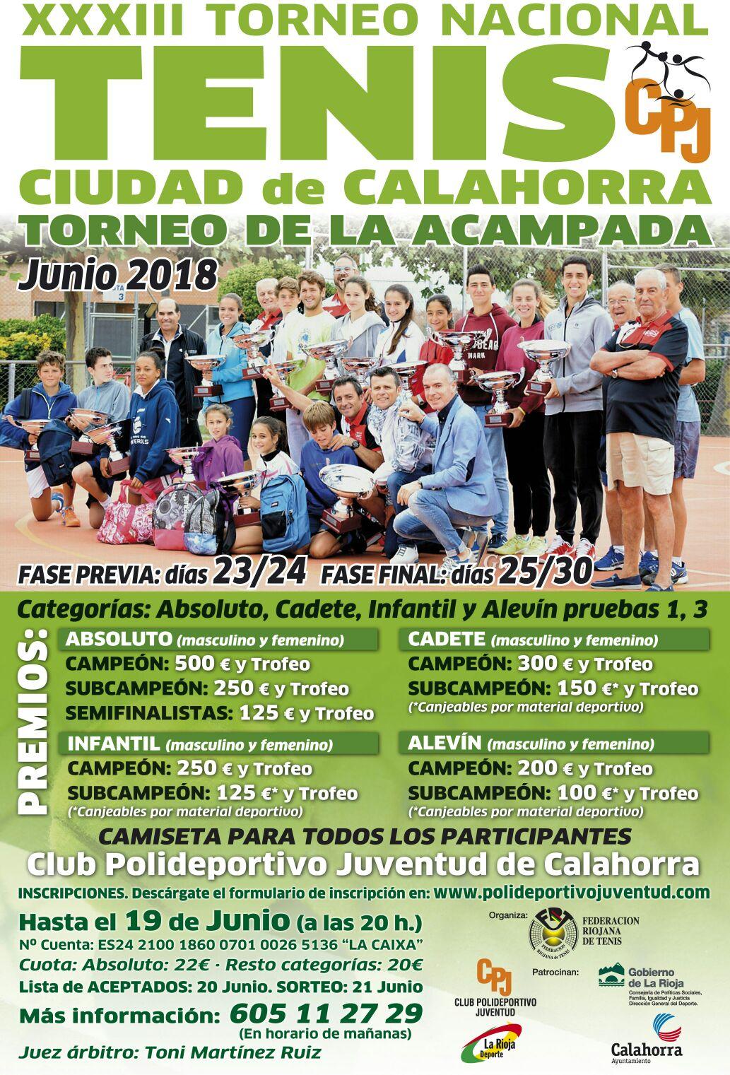 XXX III TORNEO CIUDAD DE CALAHORRA