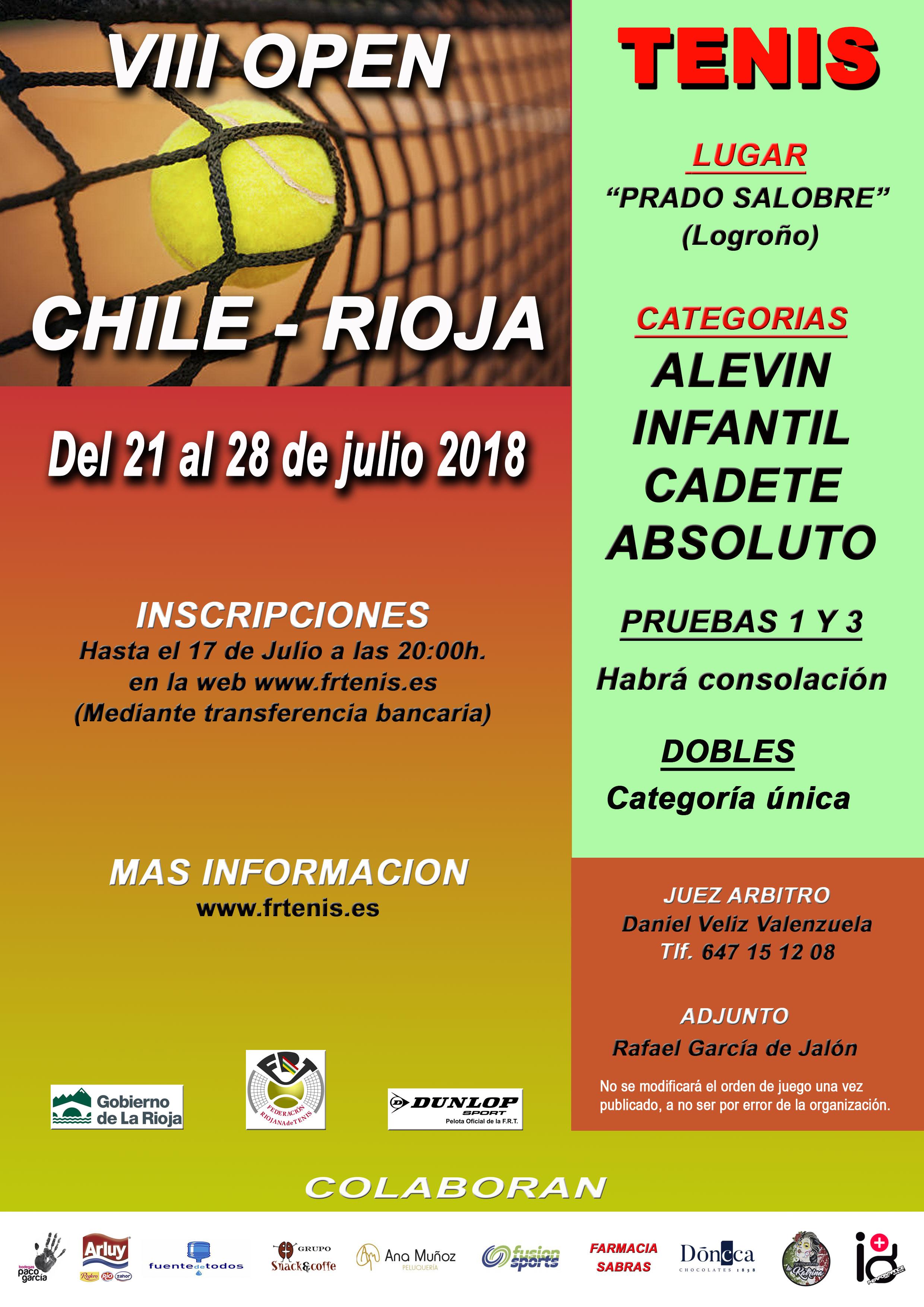 VIII Open Chile-Rioja