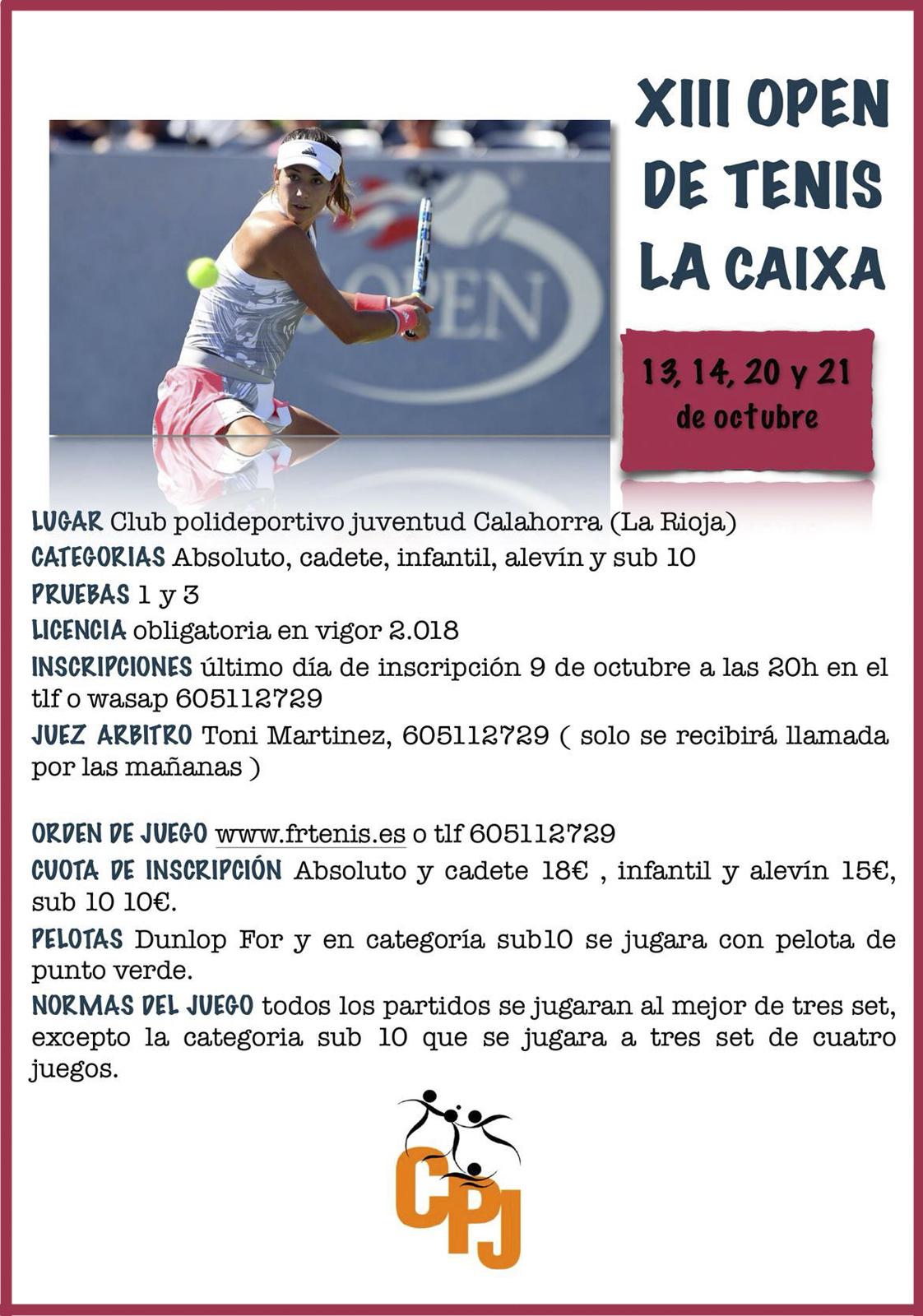 XII Open La Caixa