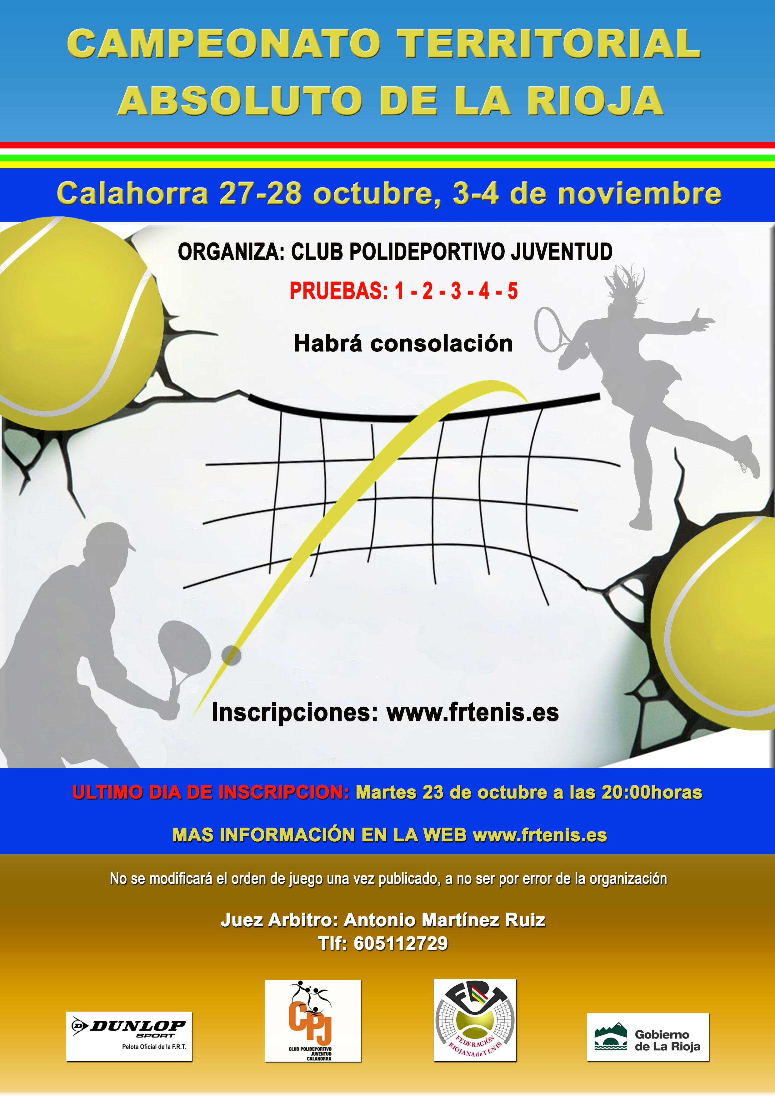 XXX Campeonato Territorial Absloluto de La Rioja