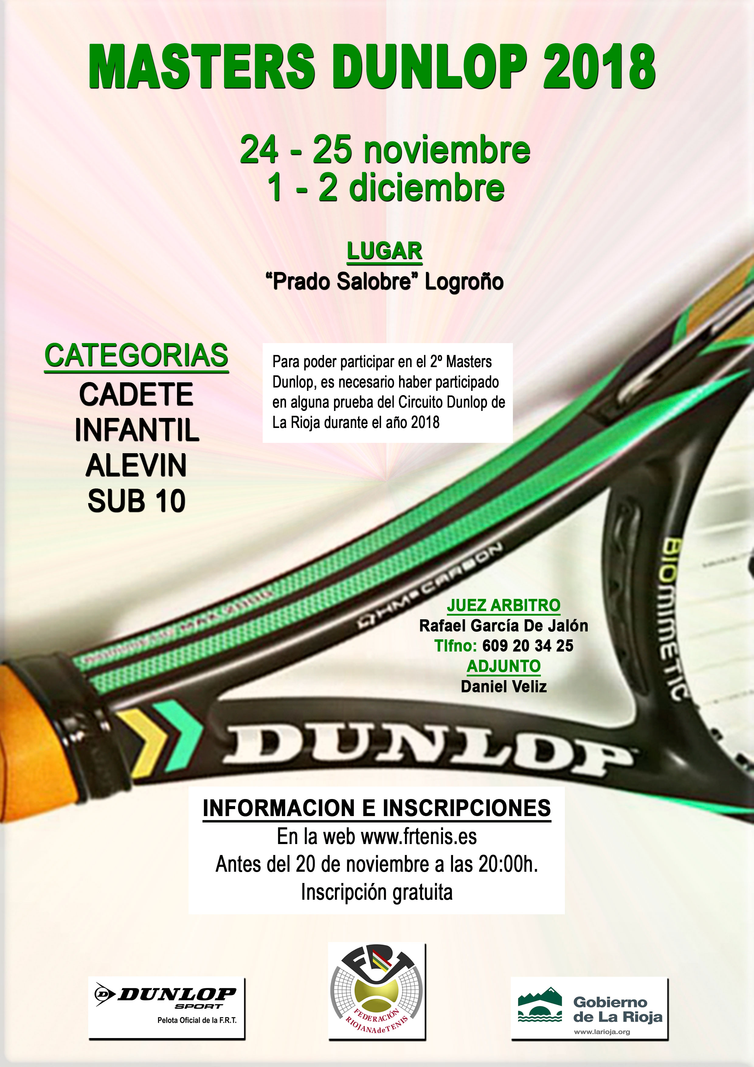 Masters Dunlop 2018