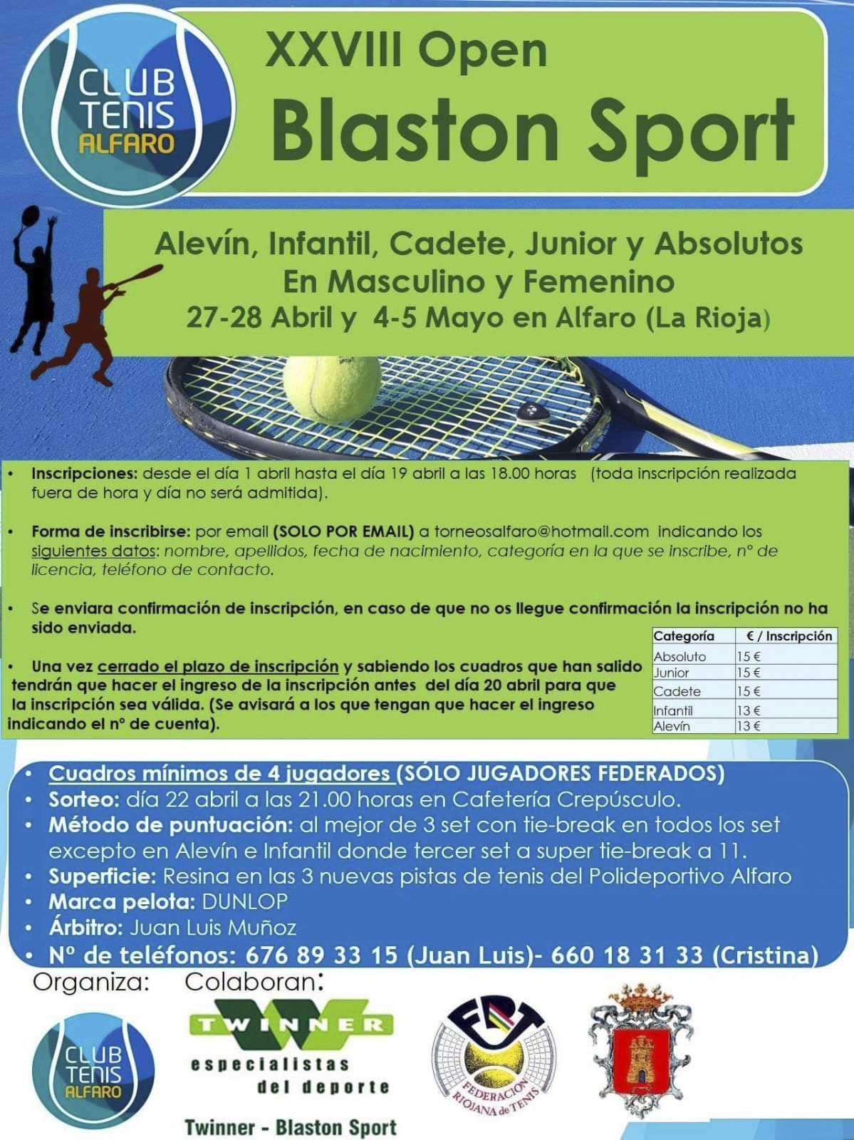 XXVIII Open Blaston Sport