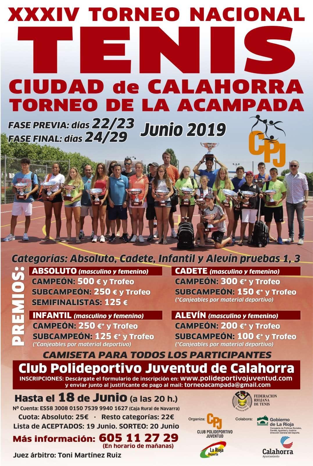 XXXIV Torneo Ciudad de Calahorra