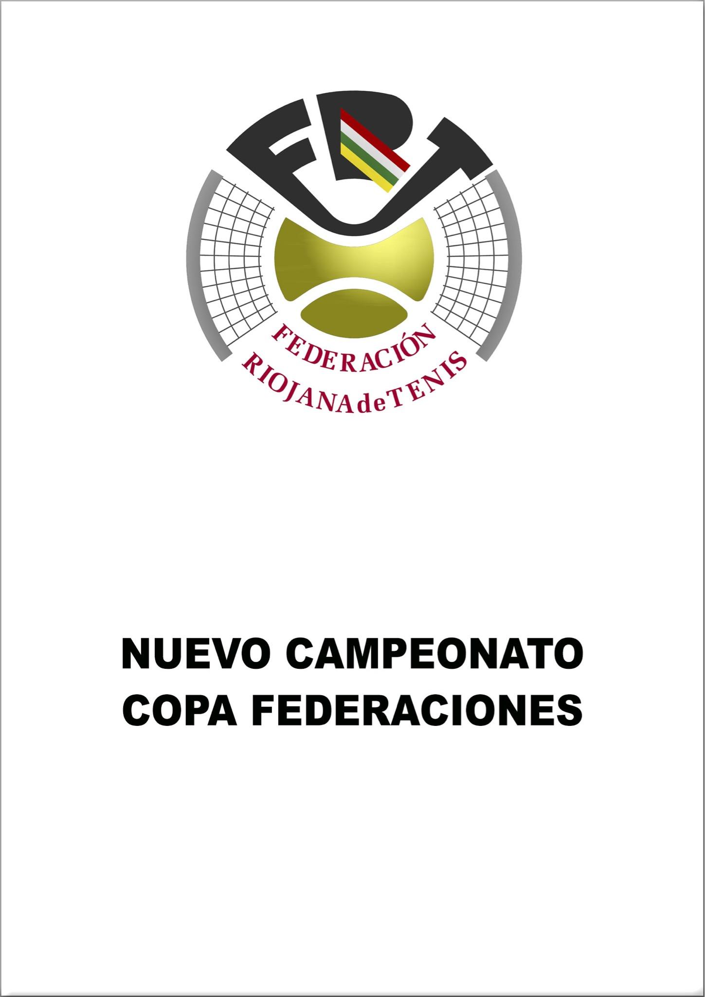 Nuevo Campeonato Copa Federaciones 2019