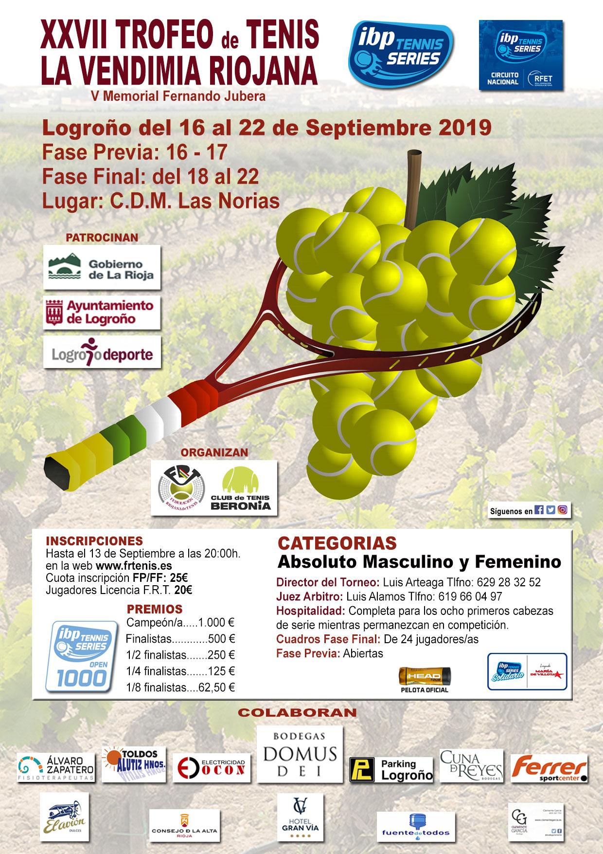 XXVII Trofeo de La Vendimia Riojana