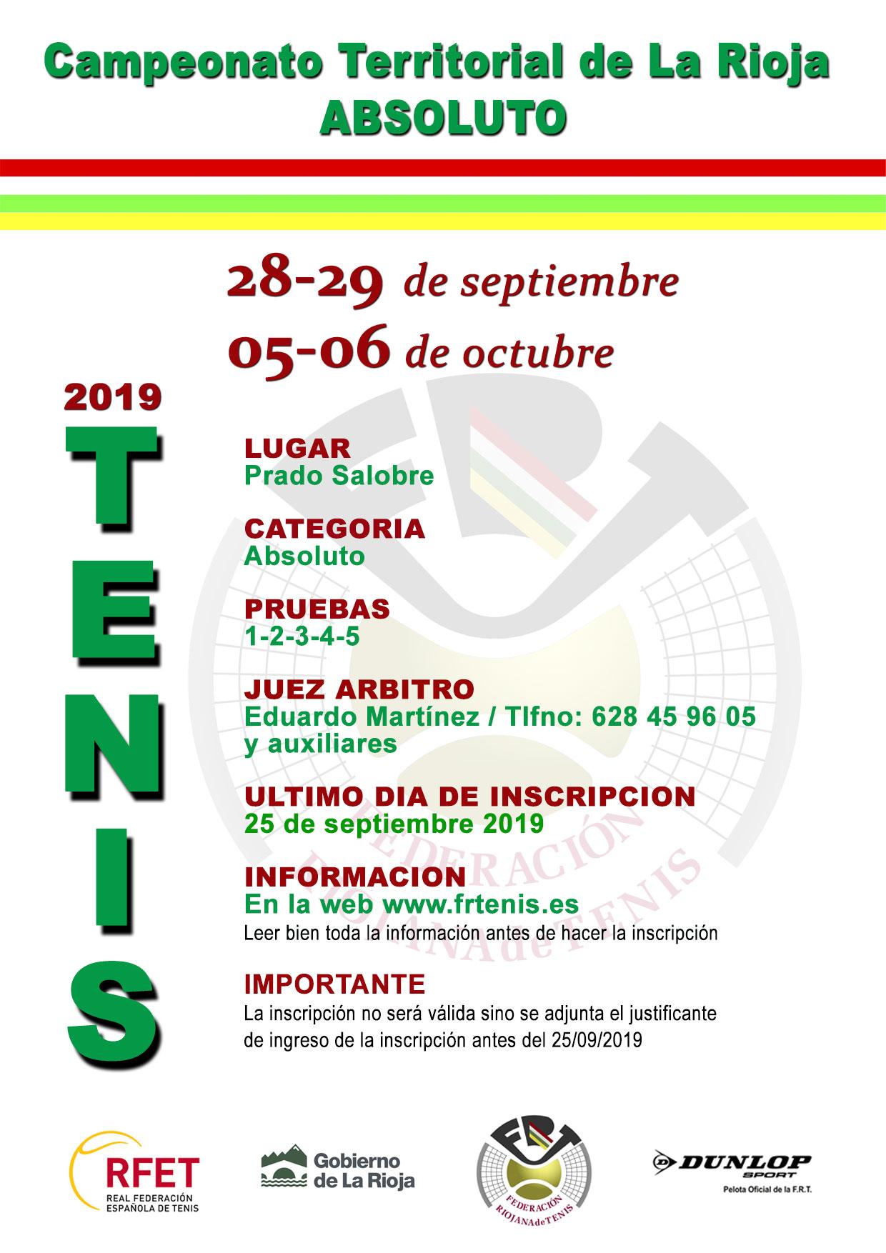Campeonato Territorial de La Rioja Absoluto