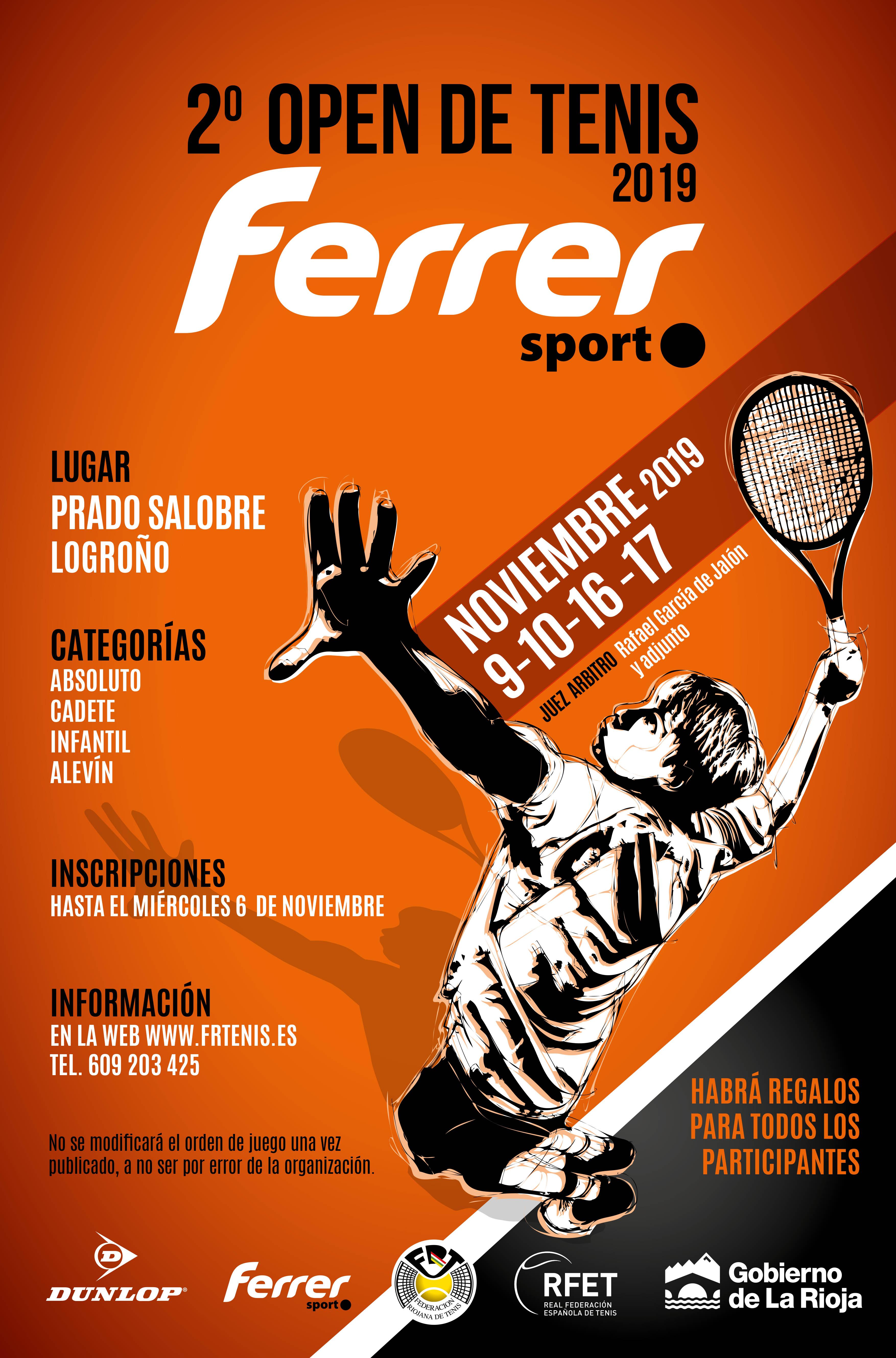 2º Open Ferrer 2019