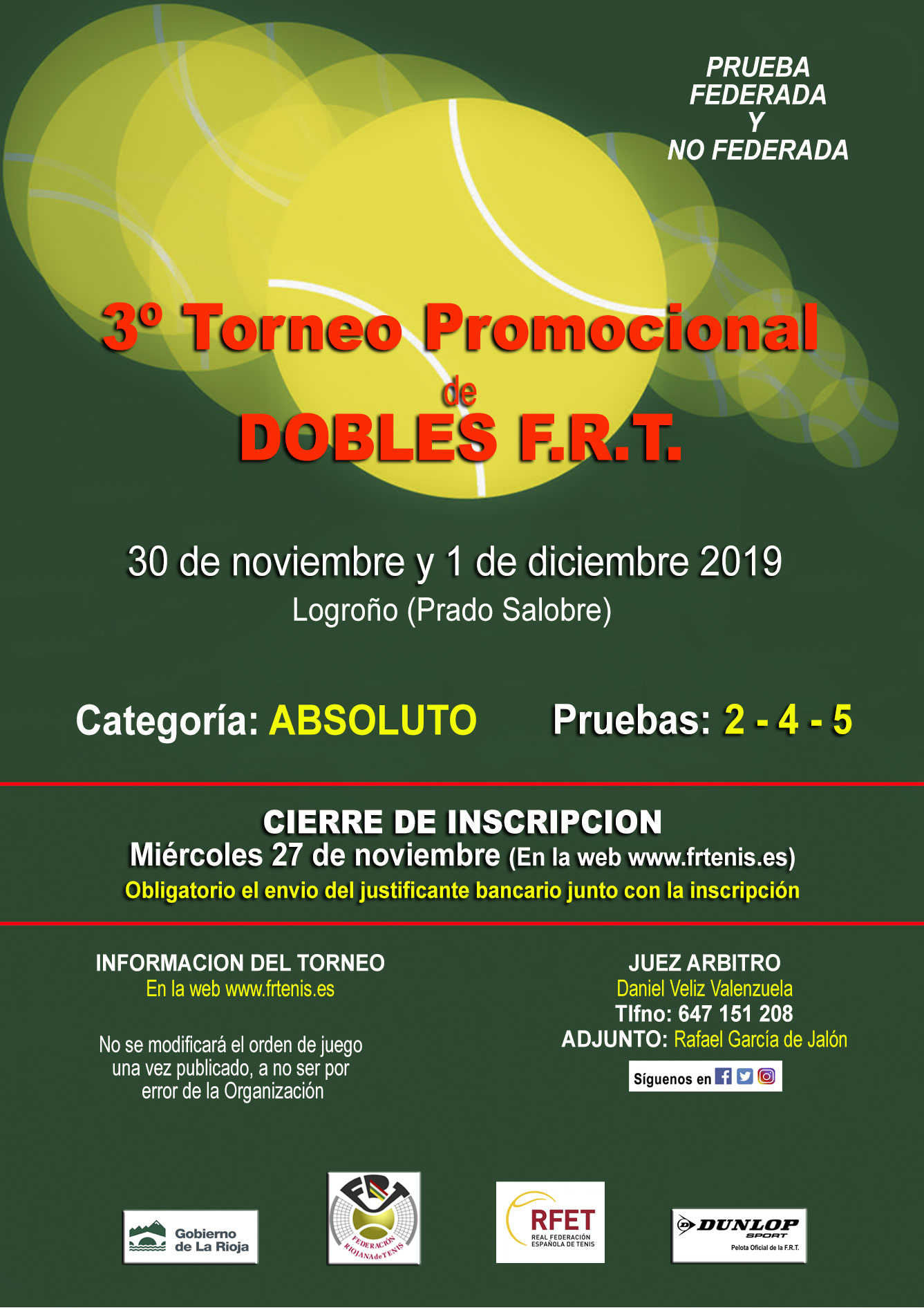 3º Torneo Promocional Dobles FRT